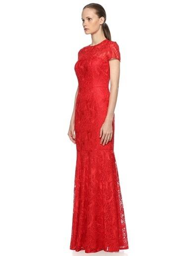 David Meister Elbise Kırmızı